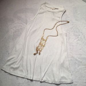 Free People For Urban Outfitters Sleeveless Blouse